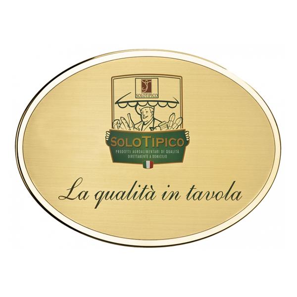 Targa personalizzata da esterno in ottone - Settore incisoria - Ciak Targhe