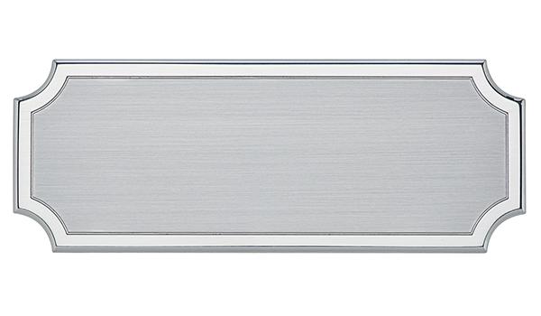 Targa di serie da porta in alluminio - Settore incisoria - Ciak Targhe
