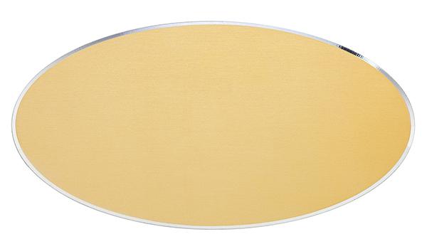 Targa di serie da porta in alluminio oro- Settore incisoria - Ciak Targhe