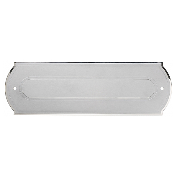 Buca lettere in alluminio - Ciak Targhe