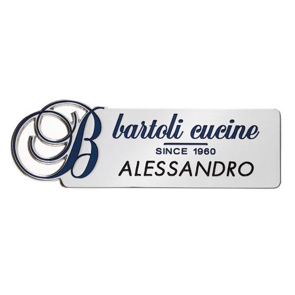 Spilla portanome - Settore alberghiera - Ciak Targhe