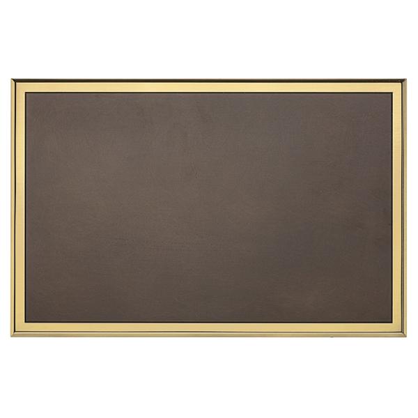 Targa di serie da esterno in ottone brunito - Settore incisoria - Ciak Targhe