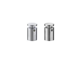 Distanziale alluminio cromato - Accessori per targhe - Ciak Targhe