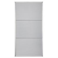 Cornice portatarghe alluminio lucido con targhe alluminio - Ciak Targhe