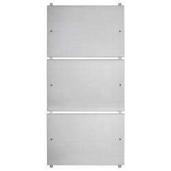 Telaio portatarghe alluminio con targhe alluminio - Ciak Targhe
